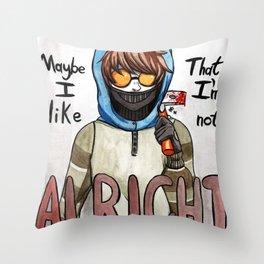 Ticci-Toby Throw Pillow