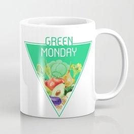 The optimal food triangle - Green Monday Coffee Mug