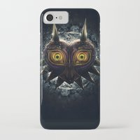 majora iPhone & iPod Cases featuring Epic Pure Evil of Majora's Mask by Barrett Biggers