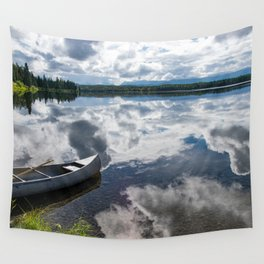 Tranquility At Its Best - Alaska Wall Tapestry