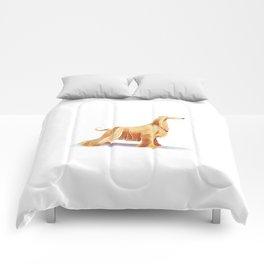 Afghan hound Comforters