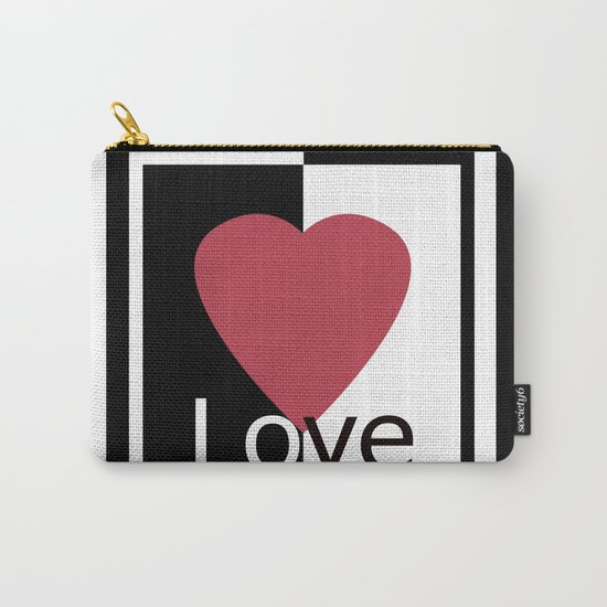 Love .Gift design. Carry-All Pouch
