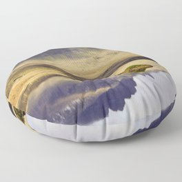 Reflection of Storr Floor Pillow
