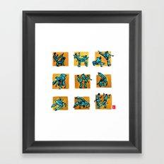 Capoeira 500+ Framed Art Print