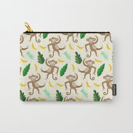 monkey see monkey do Carry-All Pouch
