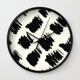 Tribal Splash Wall Clock
