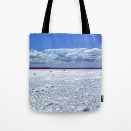Salty horizon Tote Bag