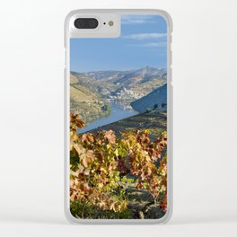 Autumn in the Douro Valley, Portugal Clear iPhone Case