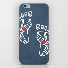 Jesus Christ feet iPhone Skin