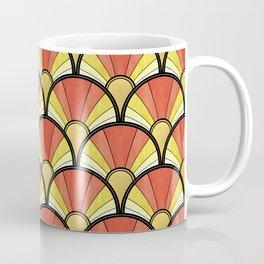 Radiant Sunshine Art Deco Pattern Coffee Mug