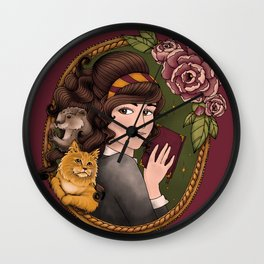 The Good Witch Wall Clock