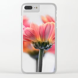 Aster Pink 096 Clear iPhone Case