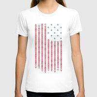 patriots T-shirts featuring Native Patriots by Steven Toang