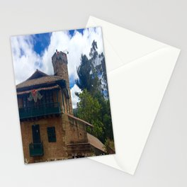 Mount Monserrate at Christmastime Maybe, Bogota, Colombia Stationery Cards