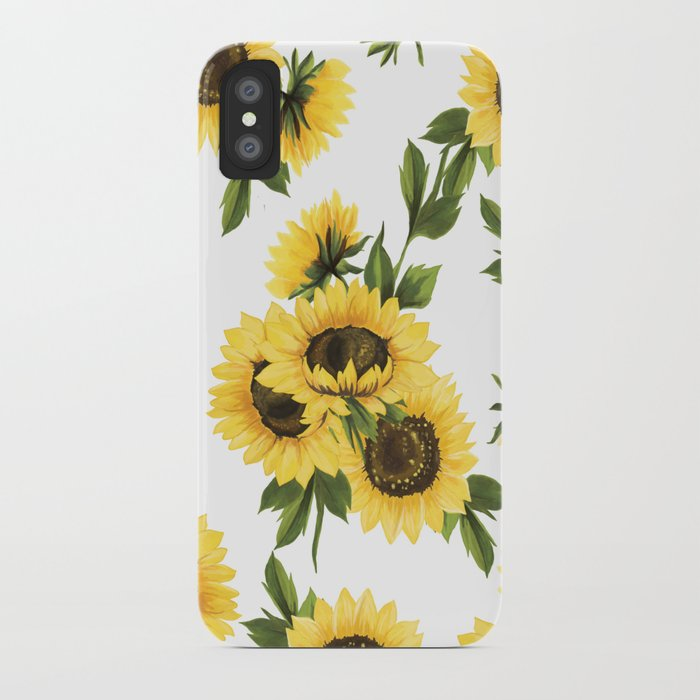 lovely sunflower iphone case