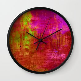 Creation with my son  Wall Clock