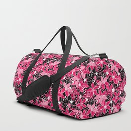 Flower pattern 11 Duffle Bag