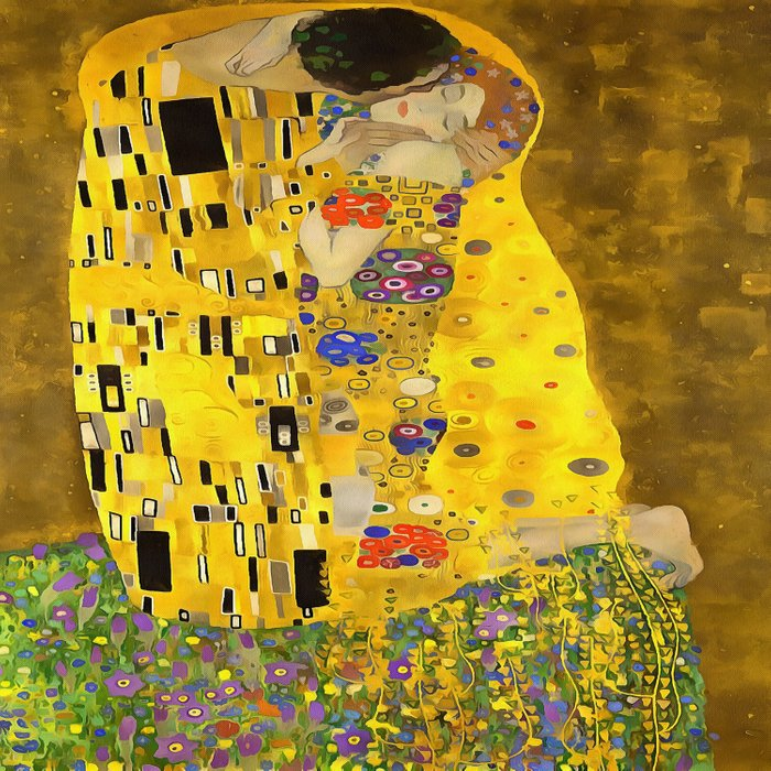 The Lovers Kiss After Klimt Comforters