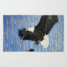 Bald Eagle-3 Rug