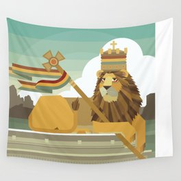 Judah Lion Wall Tapestry