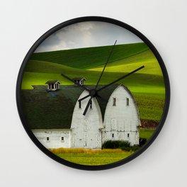 Two Barns Wall Clock
