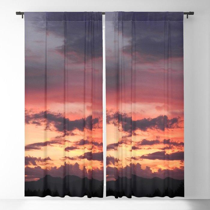 Sunrise Sherbet Blackout Curtain