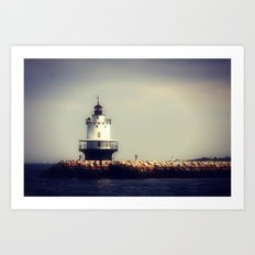Lighthouse 2 Art Print