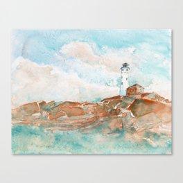 Crisp Point of Light Canvas Print