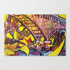 Aurora Bridge Canvas Print