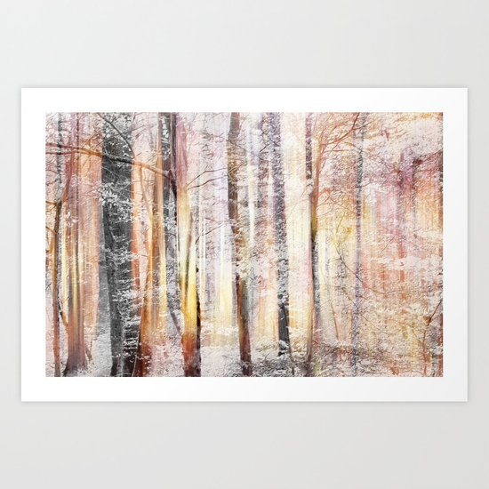 Winterwood Art Print