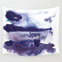 shadow Wall Tapestries featuring Little shadow by Emelie Sandahl