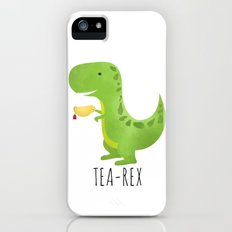 Tea-Rex iPhone (5, 5s) Slim Case
