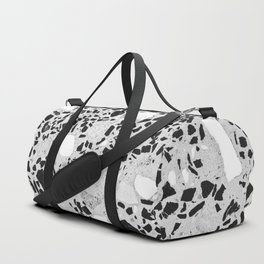 Real Terrazzo Stone Marble Concrete Mix Pattern Duffle Bag