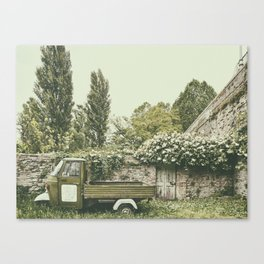 Italian country life Canvas Print