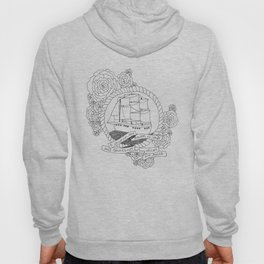 A Ship in the Harbor Hoody
