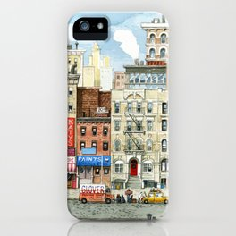 Physical Graffiti Building iPhone Case