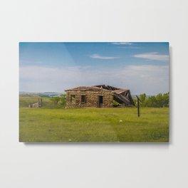 Sod Homestead, Mercer County, ND 3 Metal Print