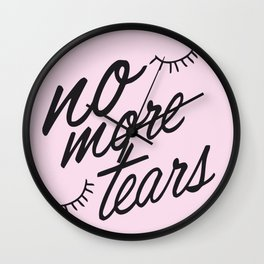 No more tears! Wall Clock