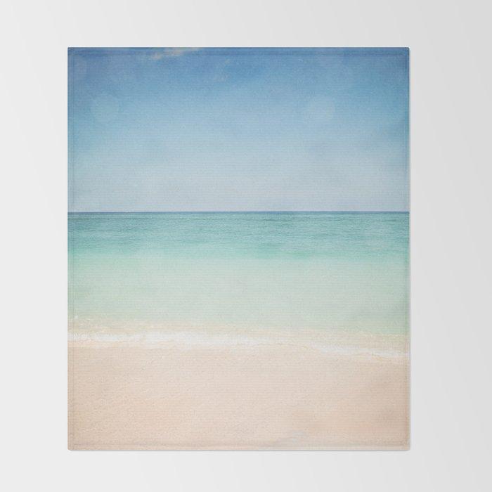 Seven Mile Beach Throw Blanket