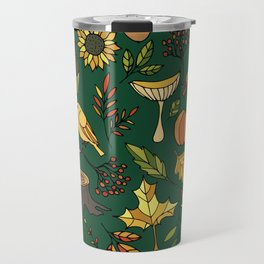Bright autumn Travel Mug