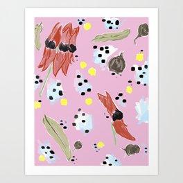 Natives #1 Art Print