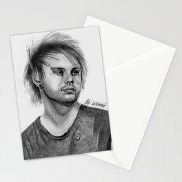 MC Pencil Portrait Stationery Cards