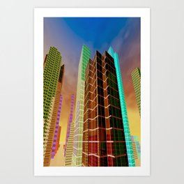 city feeling -100- Art Print