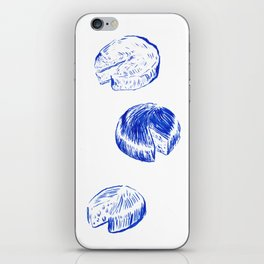 Threeses Cheeses iPhone Skin