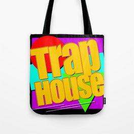 Trap House Square Logo Tote Bag