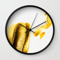 sound Wall Clocks featuring Sound by Fine2art