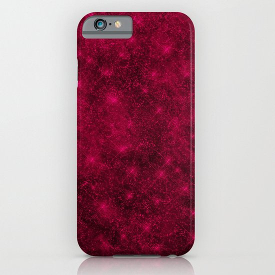 Sequin series red iPhone & iPod Case