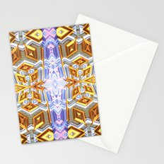 Dazzling Fractal Pattern Stationery Cards
