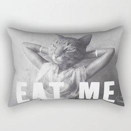 EAT ME - Cat Rectangular Pillow