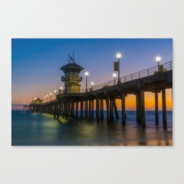 Silky Water Canvas Print